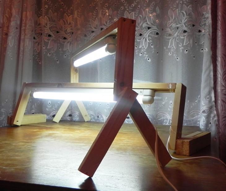 Светильник с светодиодными лампами своими руками 75