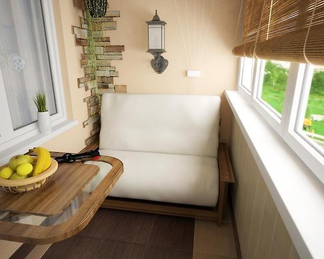 Затишні ідеї для маленького балкона