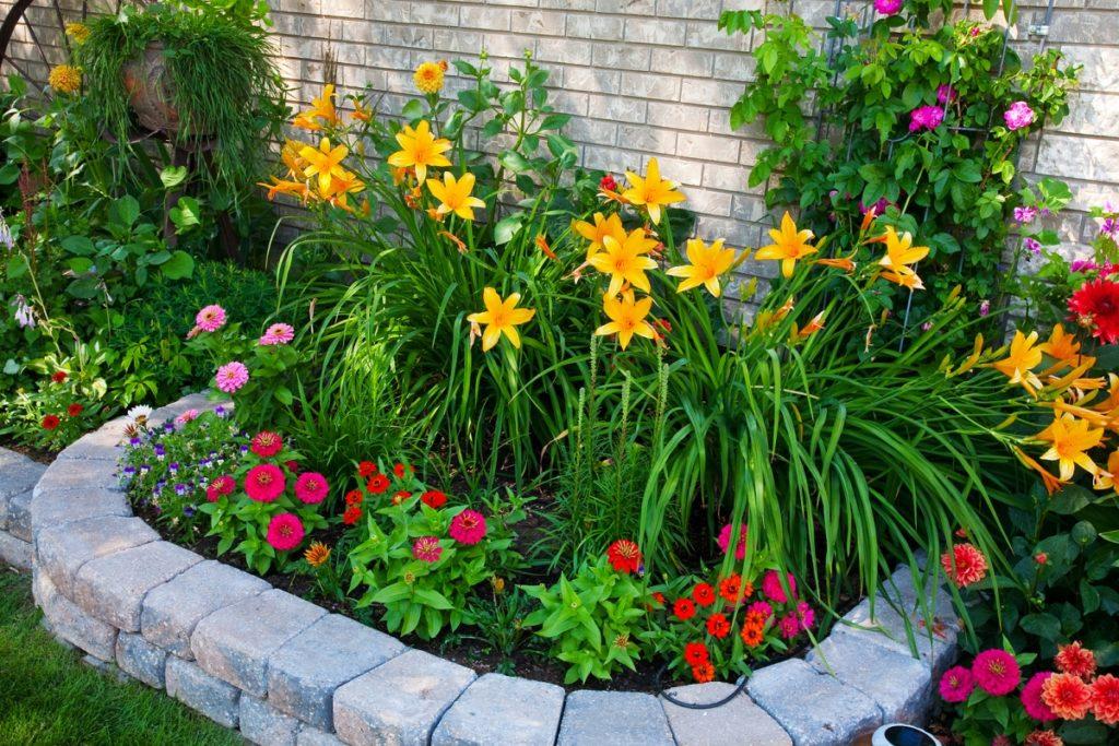 Бордюр для квітників - красиві ідеї