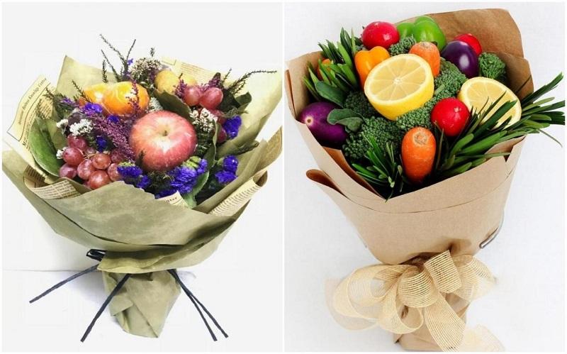 50 ідей овочевих та фруктових букетів