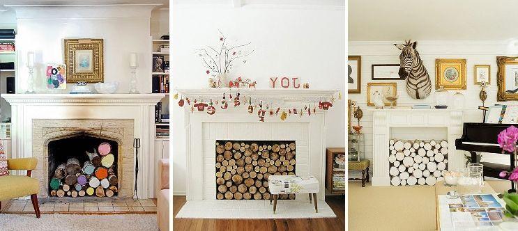 Затишок в домі з допомогою декоративного каміну