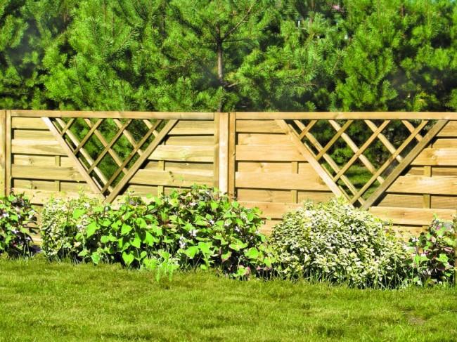 Дерев'яний паркан своїми руками