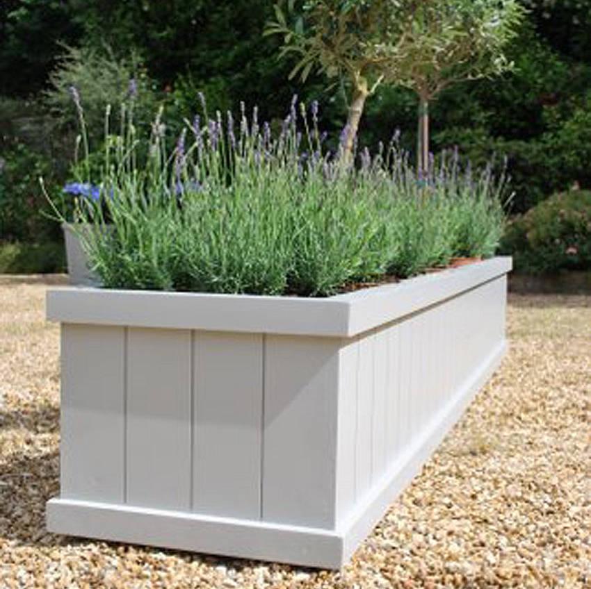 Дерев'яні ящики для рослин