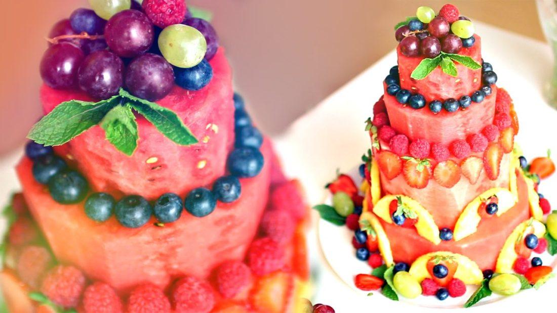 Дієтичні тортики з кавуна - апетитні ідеї