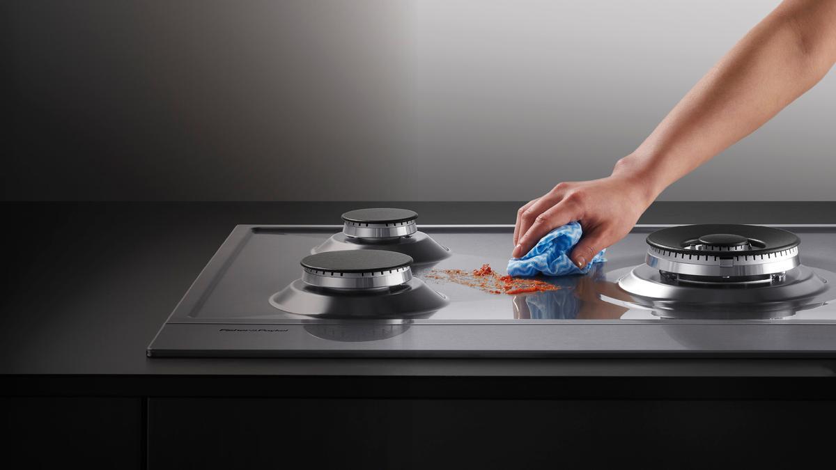 Як почистити газову плиту