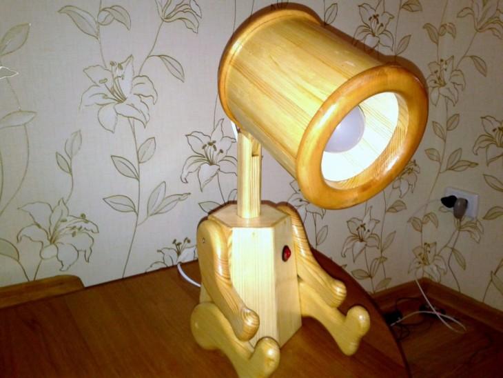 Електрична лампа своїми руками