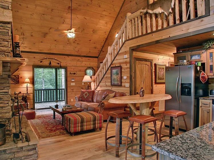 Інтер'єр дерев'яного будинку