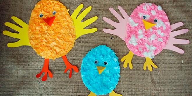 Дитячі вироби на Великдень