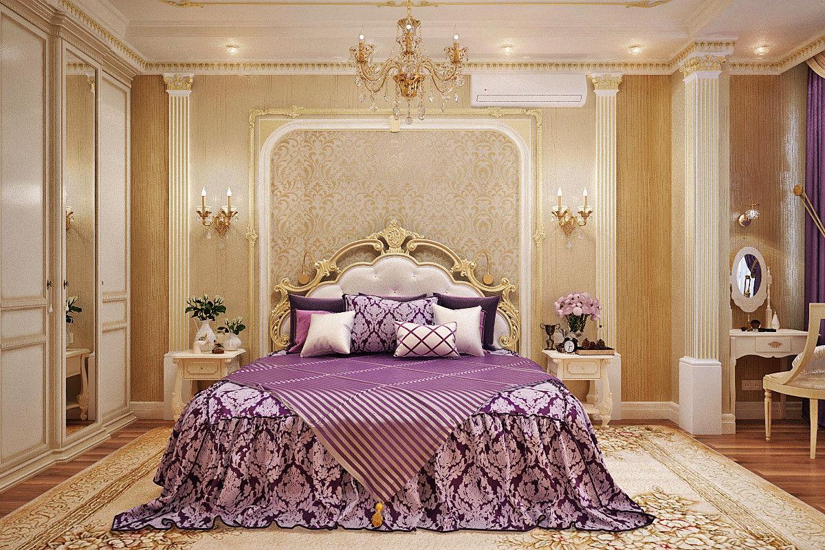 Місце над ліжком в спальні