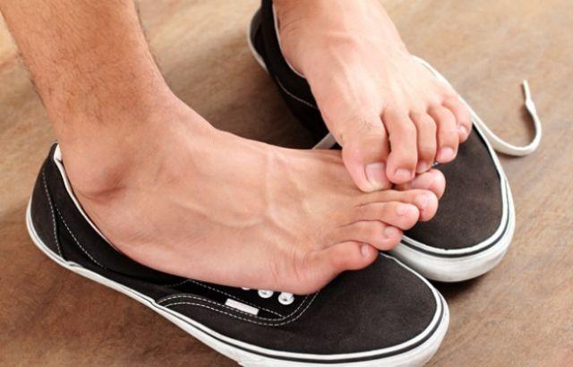 Дезінфекція взуття від грибка