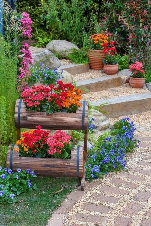 Ідеї озеленення сходів