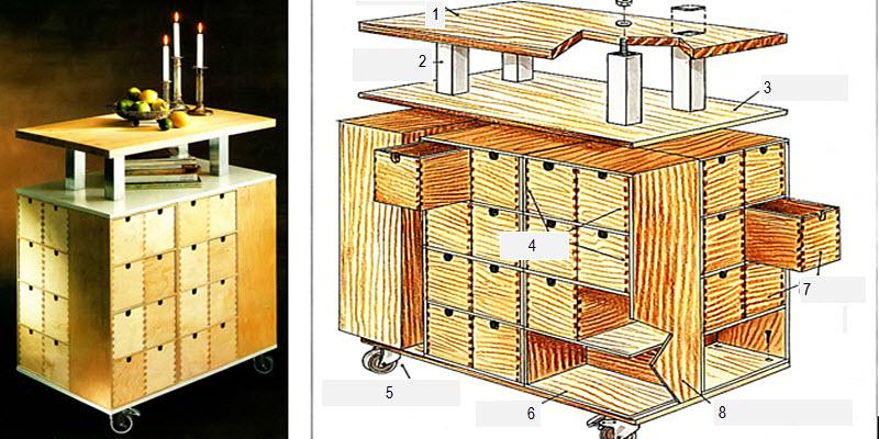 Касетні меблі