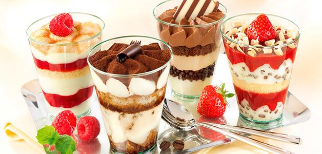 Десерти в стаканчиках - смачні ідеї