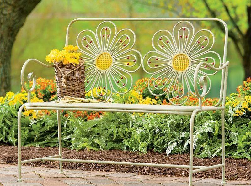 Ковані лавки для саду