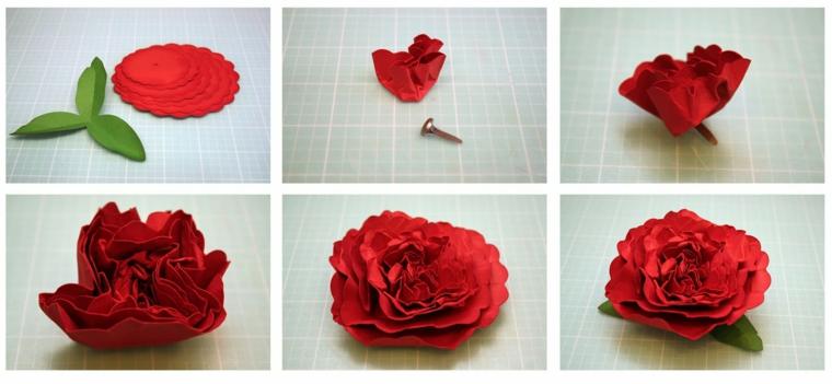 Квіти з паперу - різні техніки виконання. 30 ідей