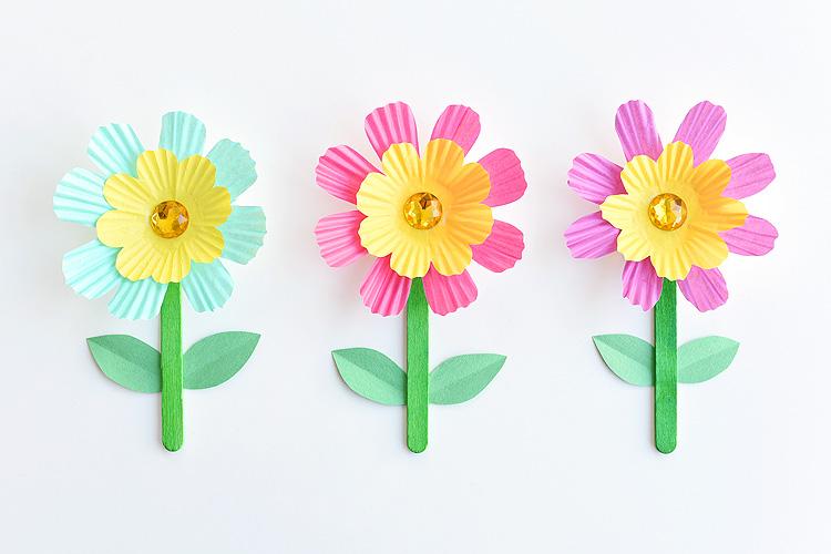 Квіти з паперу для дітей