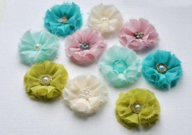 Квіти з тканини своїми руками
