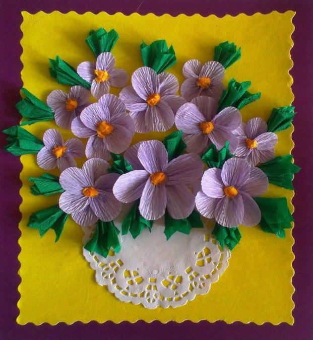 Весняний настрій - квіти своїми руками