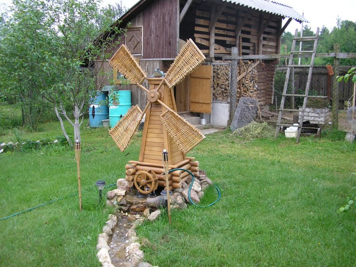 Из дерева на даче поделки из 19