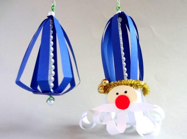 Новорічна прикраса на ялинку «Дід Мороз»