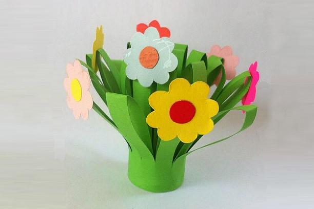 Квітковий букет своїми руками