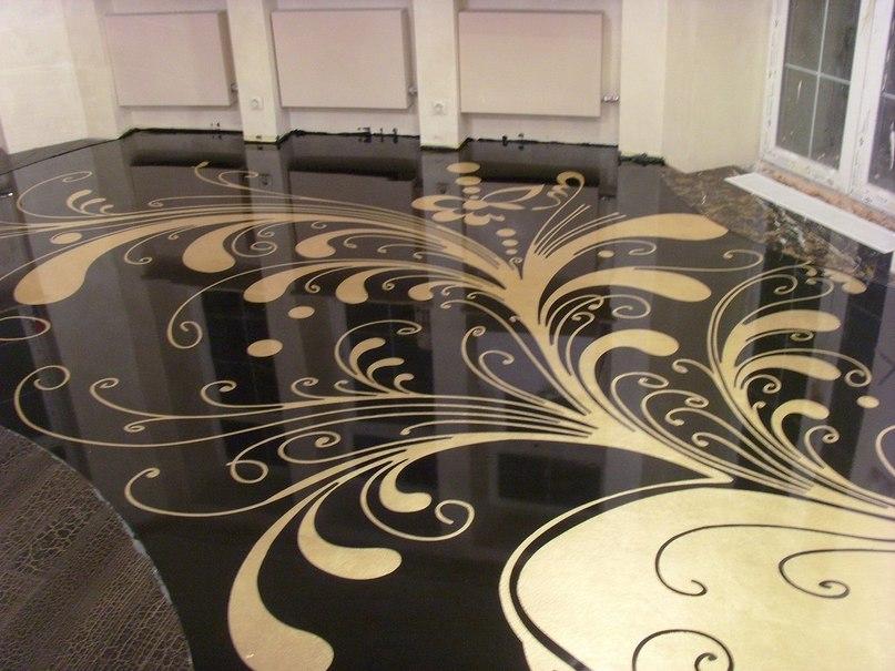 Основне про наливні підлоги і їх переваги