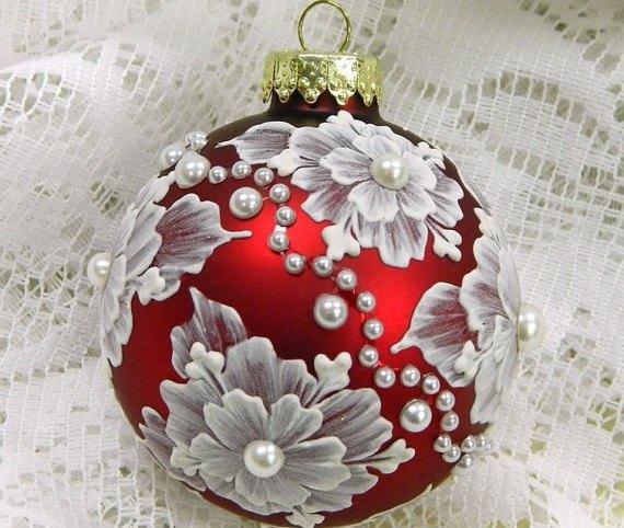 Оригінальні новорічні кульки