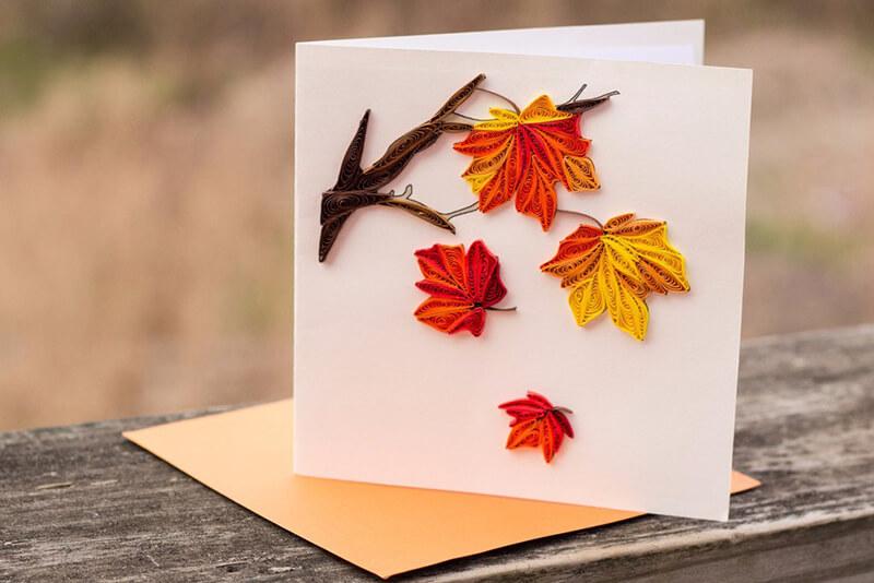 Осінні поробки з паперу