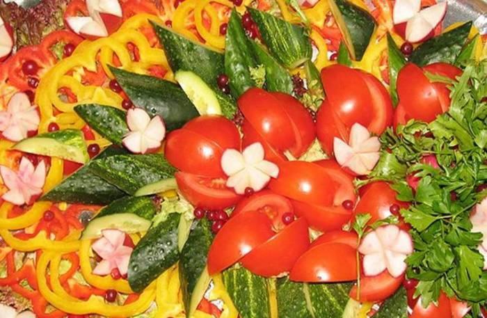 Ідеї приготування овочевих тарілок
