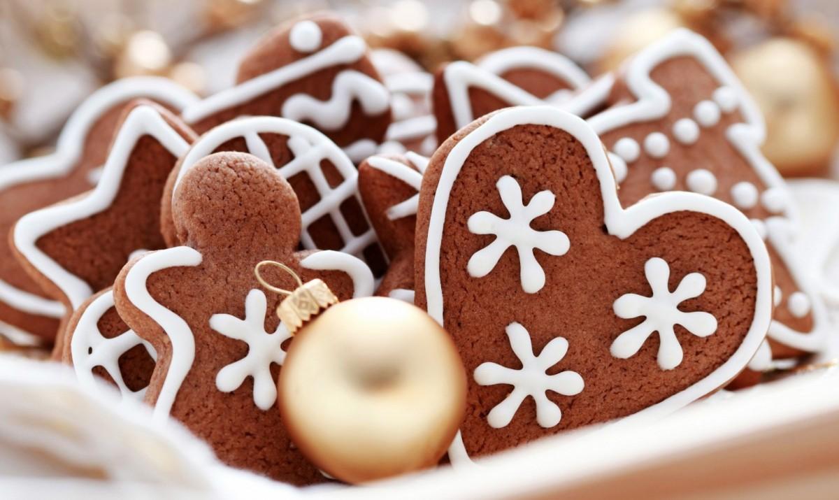 Різдвяне печиво на ялинку