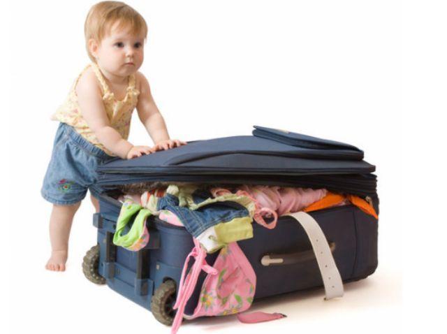 У подорож з немовлям