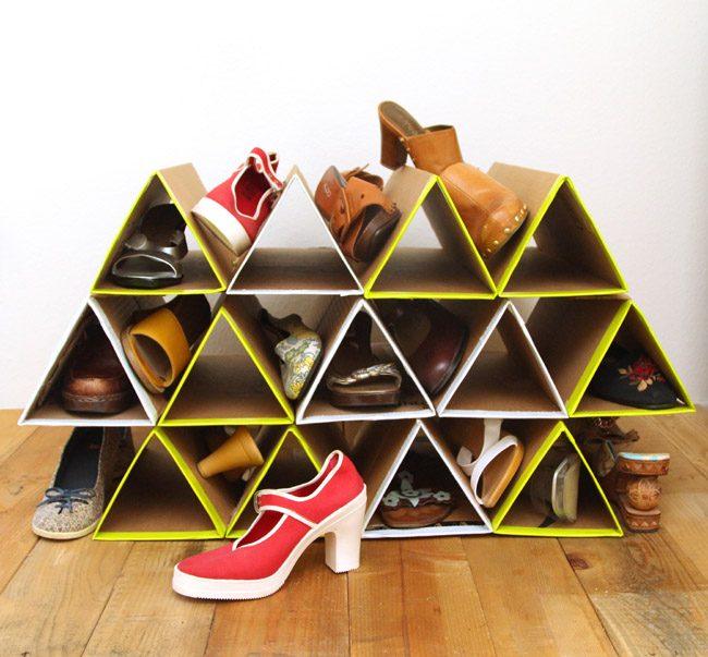 Полички для взуття своїми руками