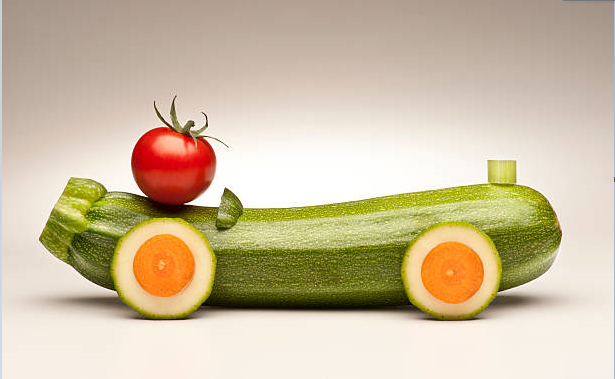 Поробки з овочів та фруктів. 50 ідей
