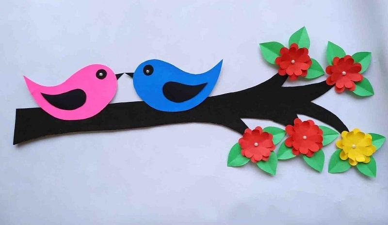Птахи з паперу. Ідеї