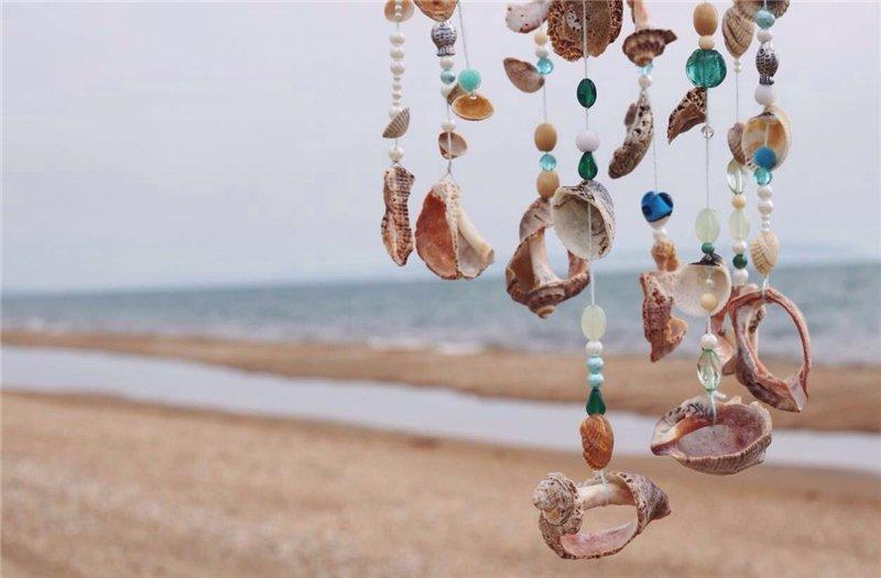 Морські мушлі - цікаві ідеї для творчості