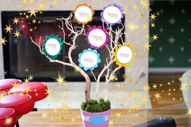 Дерево для сімейних фотографій