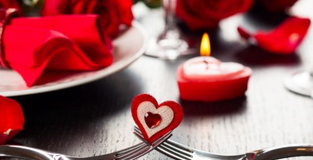 Романтичний вечір в День Святого Валентина