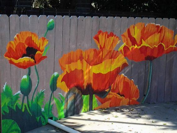 Розмальовуємо паркан - нові ідеї