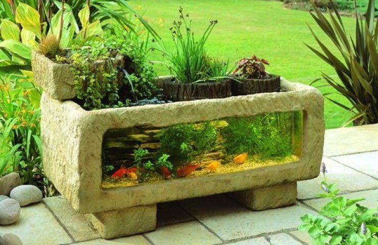 Садовий акваріум