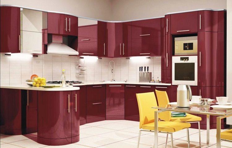 Кутова кухня: ідеї стильного планування