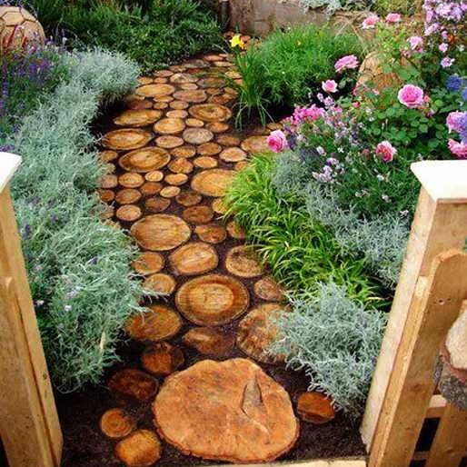 Унікальні садові доріжки