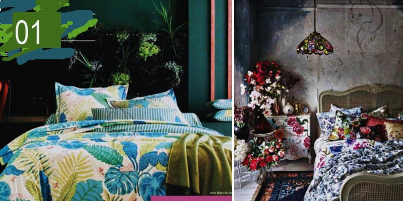 Спальня: варіанти оформлення стіни за головою