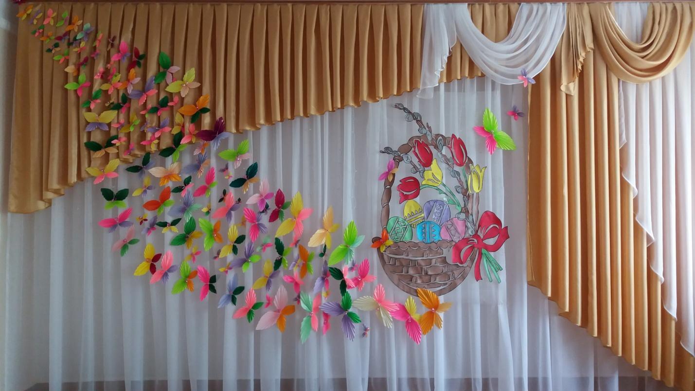 Весняні декорації для школи, садку (350.9 Kb)