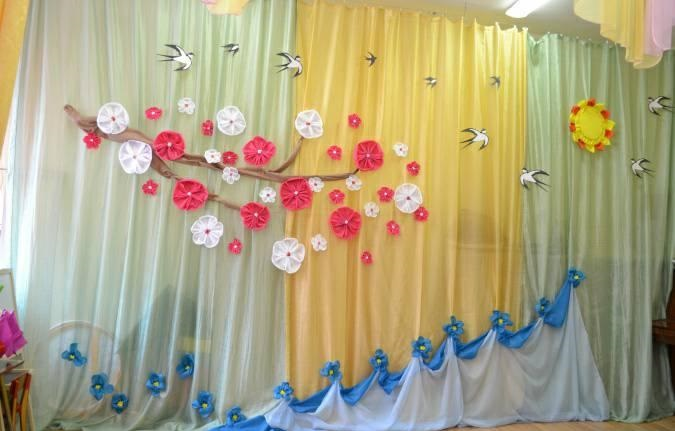 Весняні декорації для школи, садку (71.66 Kb)