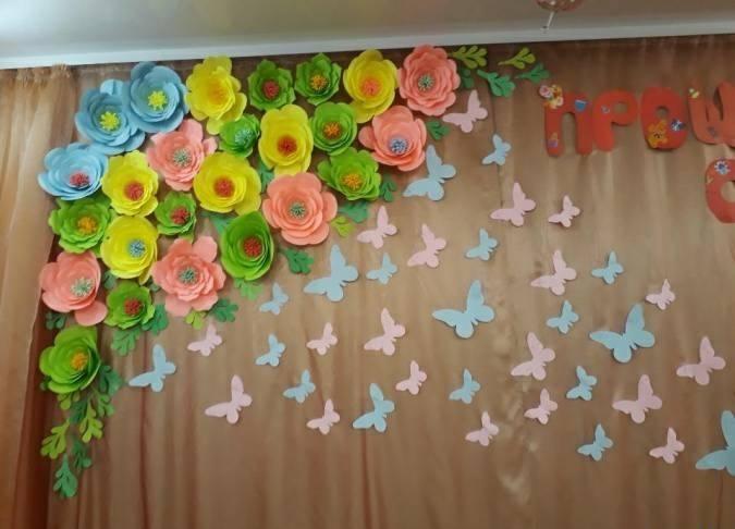 Весняні декорації для школи, садку(74.07 Kb)