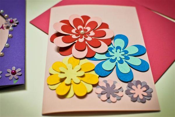 Листівки на День матері своїми руками - ідеї