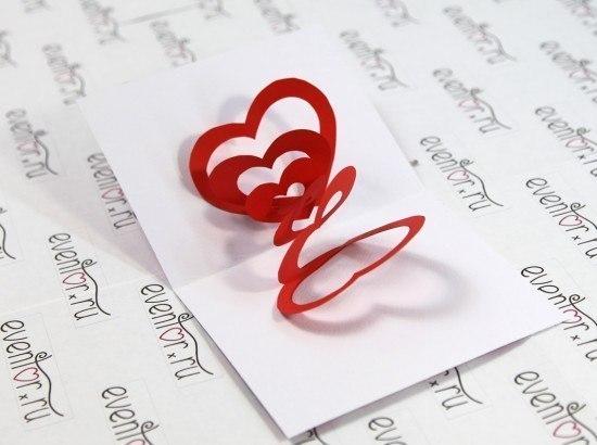 Листівка на День закоханих - ідеї