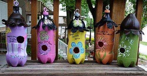 Поробки з пластикових пляшок