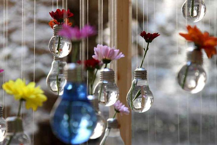 Вироби з лампочок