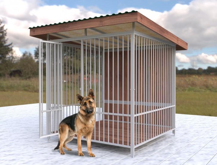 Вольєр для утримання собак